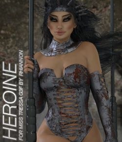 HEROINE- Miss Tressa for Genesis 3