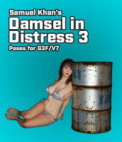 Samuel Khan's Damsel in Distress Poses 3 For G3F/V7
