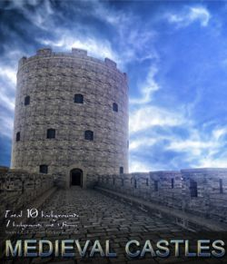 Medieval Castles- 2D backgrounds