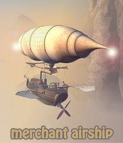 Merchant airship