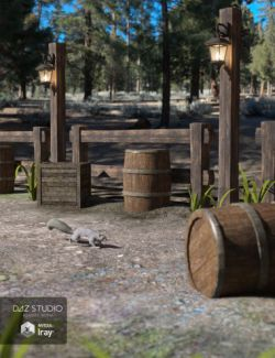 Ranch Environment Prop Set