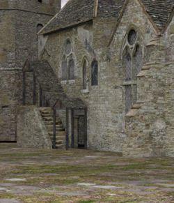 Fortified Manor for DAZ Studio
