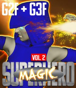 SuperHero Magic for G2F & G3F Volume 2