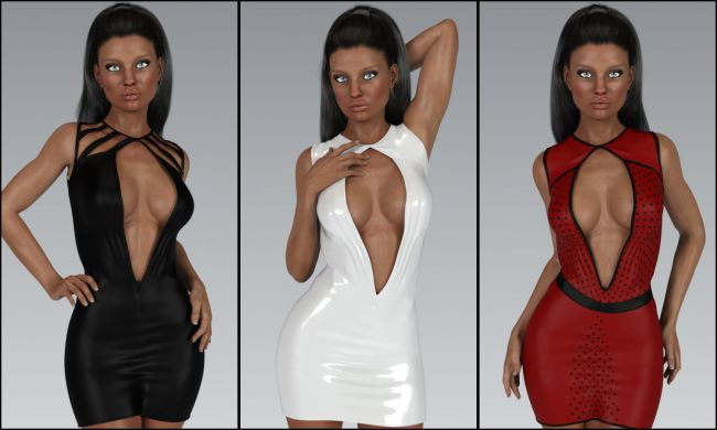VERSUS - Fashion Blizz: Diamond Dress for Genesis 3 Female(s)