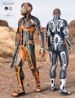 Viper Suit for Genesis 3 Male(s)