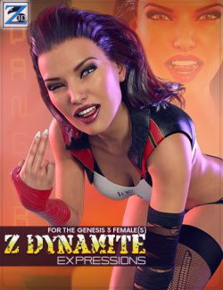 Z Dynamite- Morph Dial Expressions for the Genesis 3 Female(s)