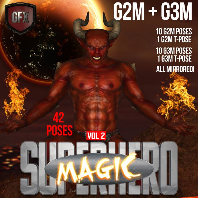 SuperHero Magic for G2M & G3M Volume 2
