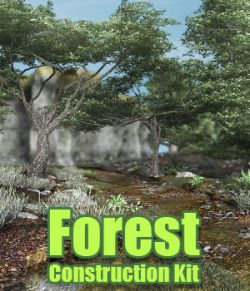 Forest Construction Kit for DS Iray