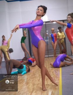 Leotard for Genesis 3 Female(s)
