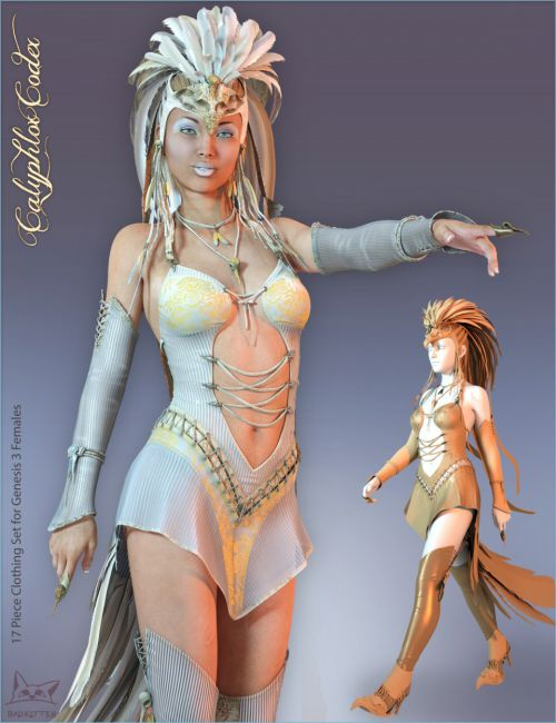 Calyphlox Codex for Genesis 3 Female(s)