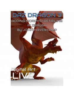 Transforming Daz Dragon 3 with Zbrush