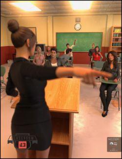 i13 Classroom Poses