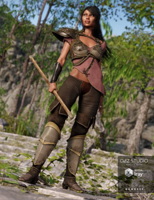 Land Walker Outfit for Genesis 3 Female(s)