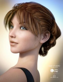 Classic Roll Hair for Genesis 3 Female(s)