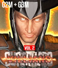SuperHero Villians for G2M & G3M Volume 2
