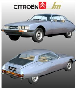 CITROEN SM 1970/1975 ( Poser and .OBJ )