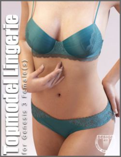 Topmodel Lingerie for Genesis 3 Female(s)