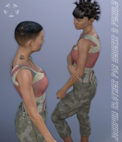 Jodhpur Clothes for Genesis 3 Female(s)