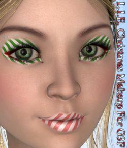 L.I.E. Genesis 3 Female Christmas Makeup