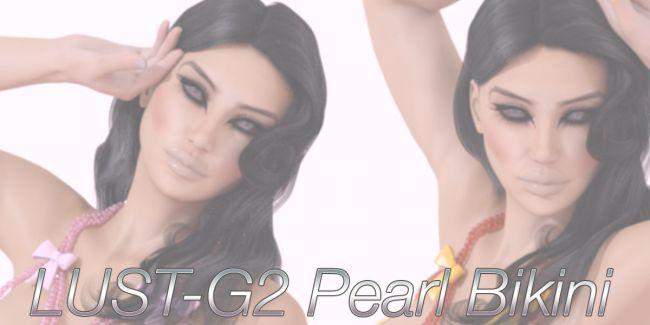 LUST - G2 Pearl Bikini Lingerie