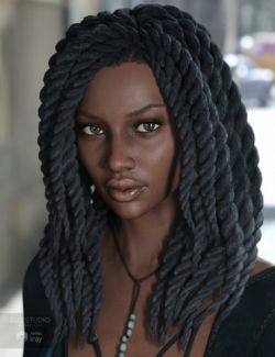 Havana Hair for Genesis 3 Female(s)