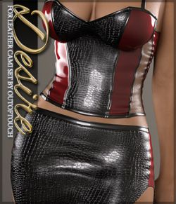 Desire for Leather Cami Set