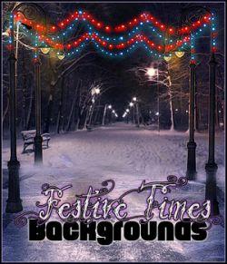 FS Festive Times Backgrounds