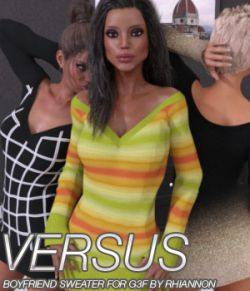 VERSUS- Boyfriend Sweater for Genesis 3 Female