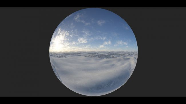Eternal White Skydome and HDRI | 3D Models for Poser and Daz Studio