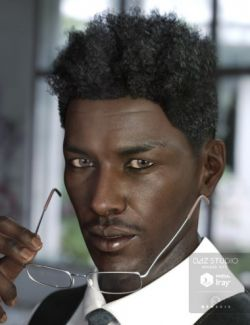 Eliot Hair for Genesis 3 Male(s) & Female(s)