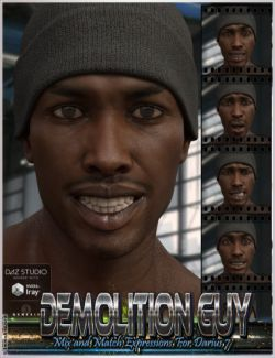 Demolition Guy Mix and Match Expressions for Darius 7 and Genesis 3 Male(s)