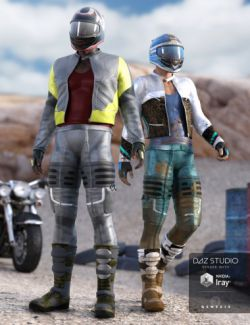 Moto Racer Outfit Textures