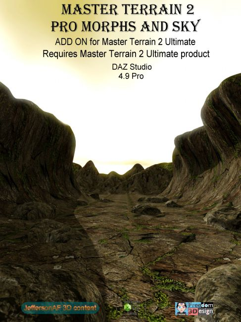 Master Terrain 2 Pro Morphs and Sky