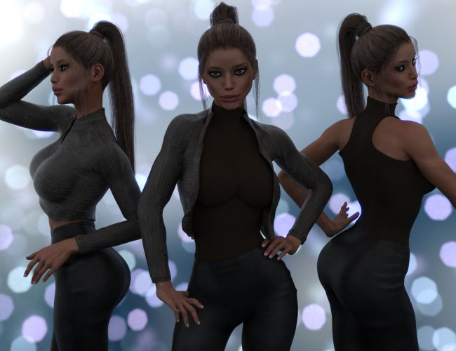 InStyle - X-Fashion Chic Jacket for Genesis 3 Female(s)