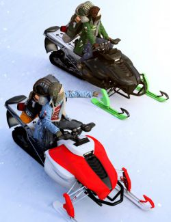 Performance Snowmobile