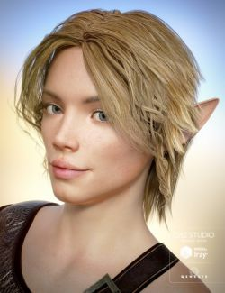 Elven Hair for Genesis 3 Male(s)