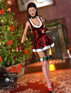 Santa Honey Outfit for Genesis 3 Female(s)