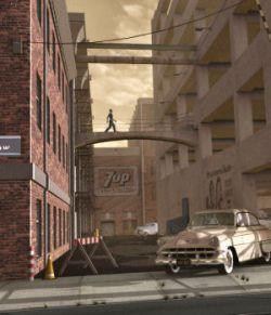 Movie Sets, City Block 02
