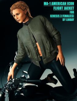 MA-1 Flight Jacket for Genesis 3 Female(s)