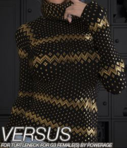 VERSUS - Turtleneck for G3 female(s)