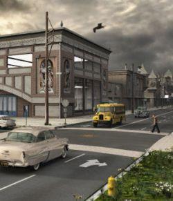 Movie Sets, City Block 07