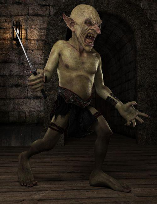 Robbus Goblin HD for Genesis 3 Male
