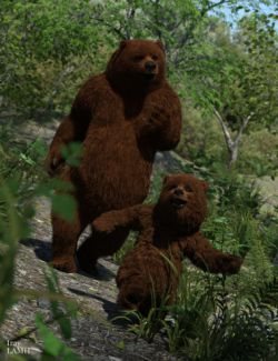 Mr. Bear and Son for Genesis 3 Male(s)