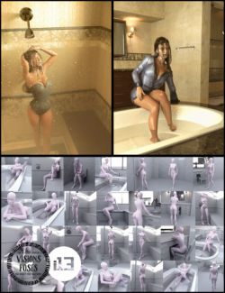 i13 Visions Bathroom Pose Collection