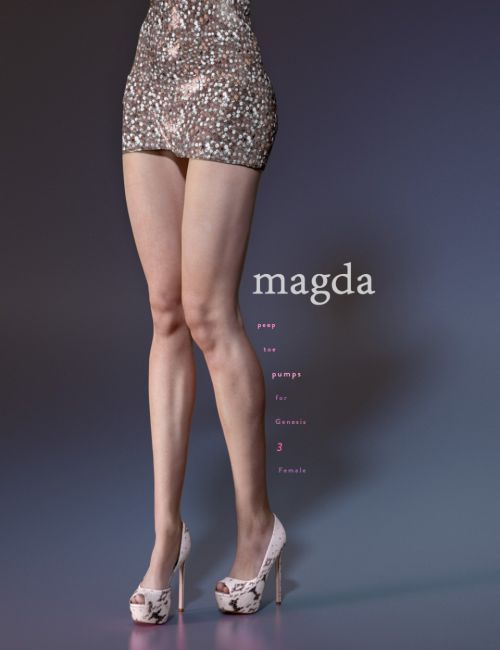Magda Pumps for Genesis 3 Female(s)