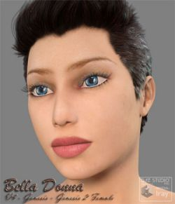 Bella Donna  for V4 and the Genesis and G2F V4 texture maps
