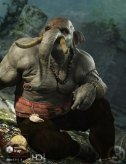 EleBeast for Genesis 3 Male