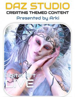 Daz Studio: Creating Themed Content from Concepts to Products