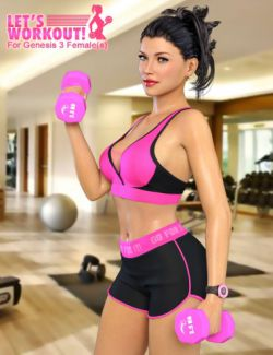 Let's Workout for Genesis 3 Female(s)