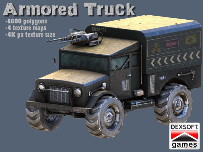 Armored Truck - Extended License